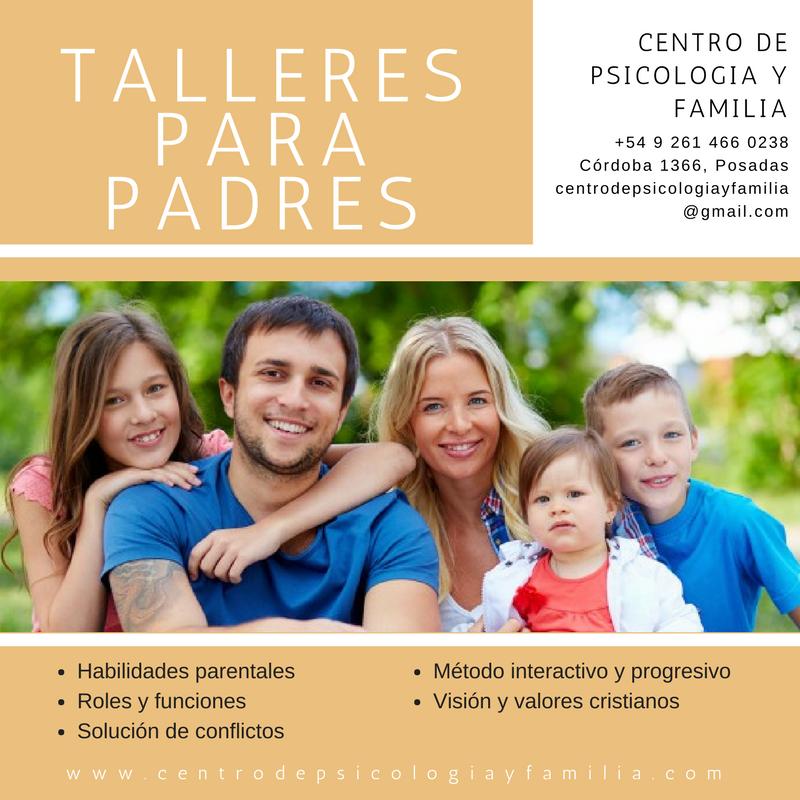 Talleres para padres-Flyer